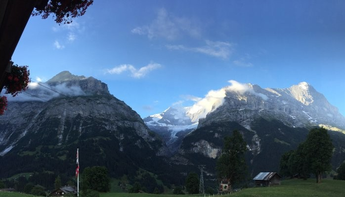 Mountains In The Swiss Alps
