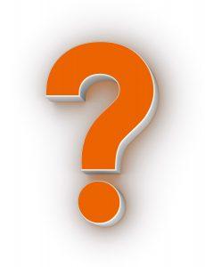 Three Dimensional Question Mark